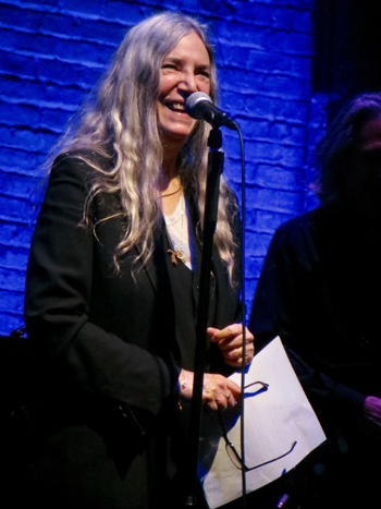 8d3f2403858 The Monday night screening of the documentary Horses: Patti Smith and Her  Band was, after all, another star-studded Tribeca Film Festival premiere,  ...